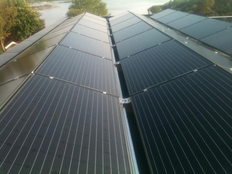 Integrirana sončna elektrarna